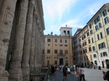 Adriano Temple, Temple of Hadrian on Piazza di Pietra.