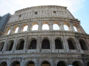 The Colosseum or Flavian Amphitheater for purists. Nice for spectacles of blood and gore.