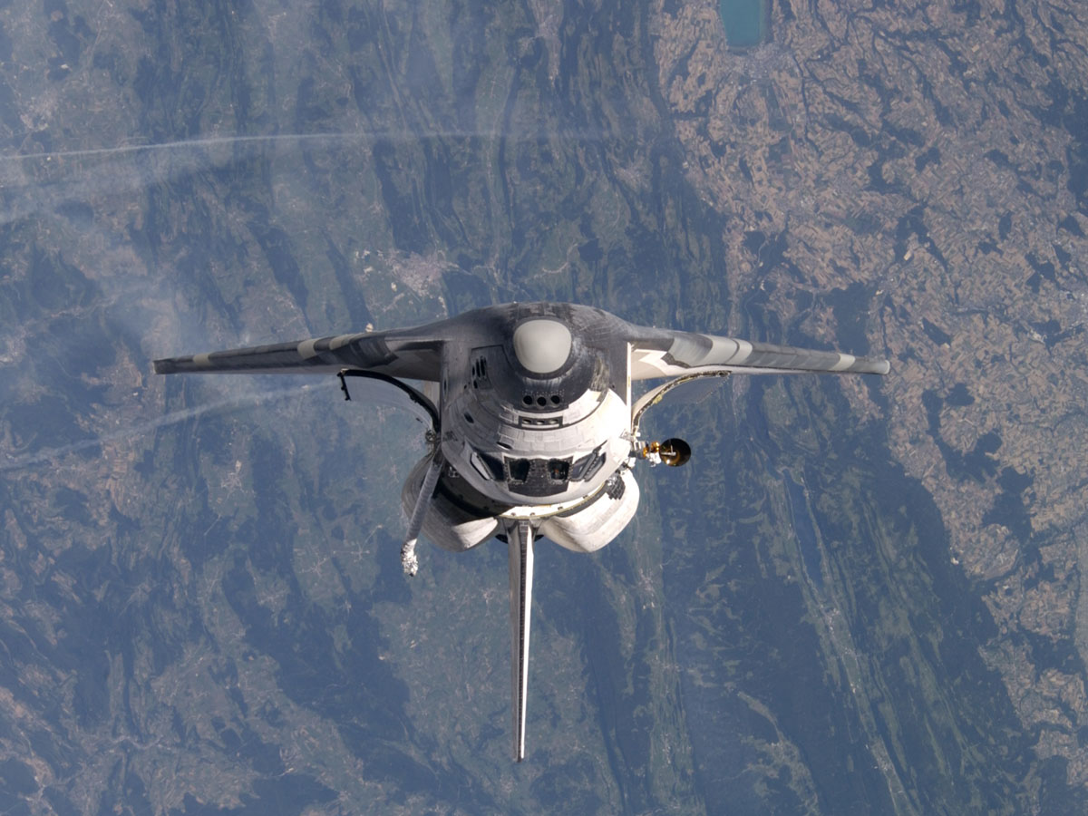 space shuttle re entry heat - photo #29