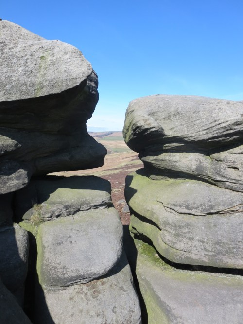 Surprise View Over Owler Tor.