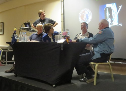 Thanks to these guys on the CosmicCon astronaut Q and A panel, I now know more about pooping in space than ever before.