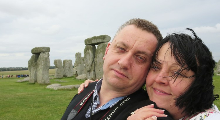 NIck and Sam Cook at Stonehenge 5th August 2015