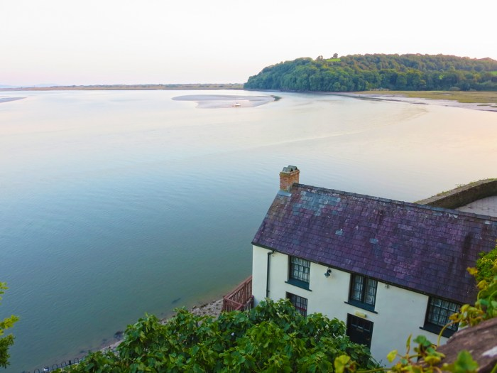 Dylan Thomas's boathouse at Laugharne
