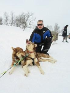 Nick Cook at Tromso Wilderness Centre