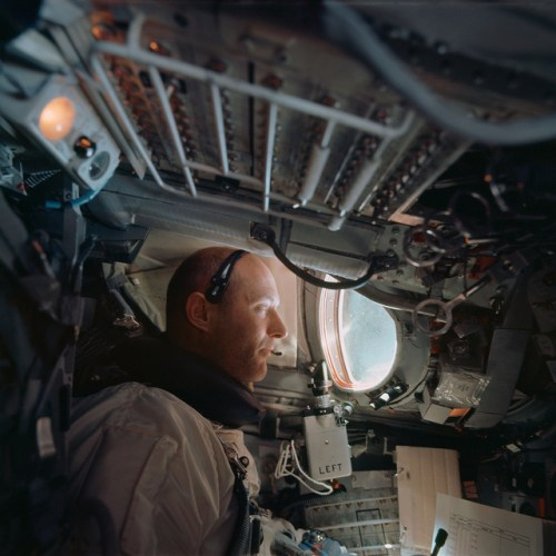 Astronaut Tom Stafford as command pilot of the Gemini 9A