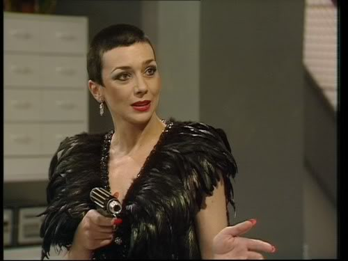 Servalan - Supreme Commander of the Terran Federation in Blake's 7