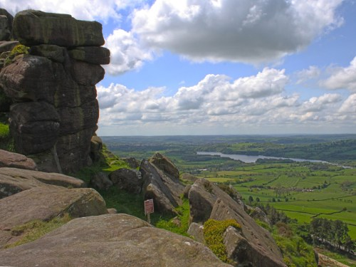 View from The Roaches Hen Cloud