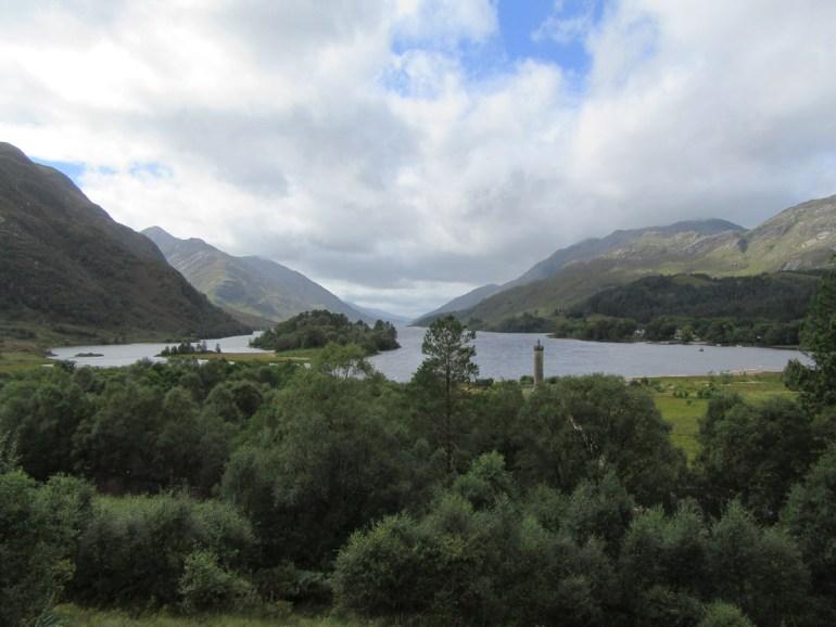 Glenfinnan on the shores of Loch Shiel