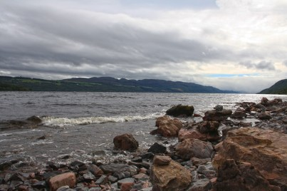 Loch Ness, home of mythical monster Nessie, the biggest PR stunt in Scotland