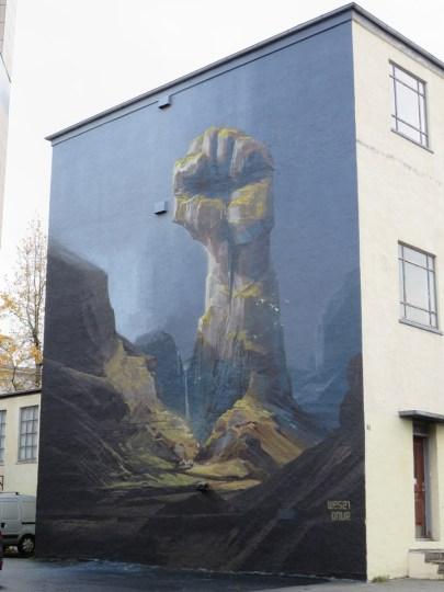 iceland-street-art-fist-rock