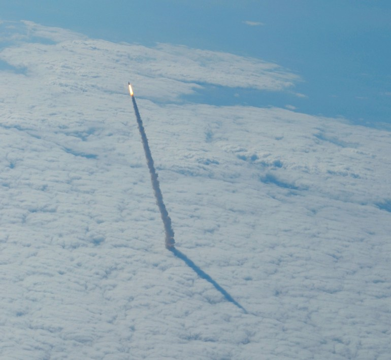 Space Shuttle Endeavour's last mission on STS-134 commanded by Mark Kelly