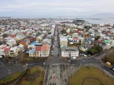 View from Hallgrimskirkja
