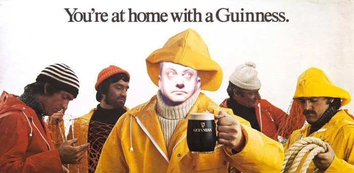 Guinness photo booth classic adverts