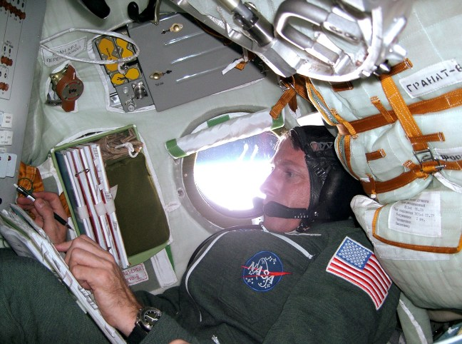On route to the International Space Station