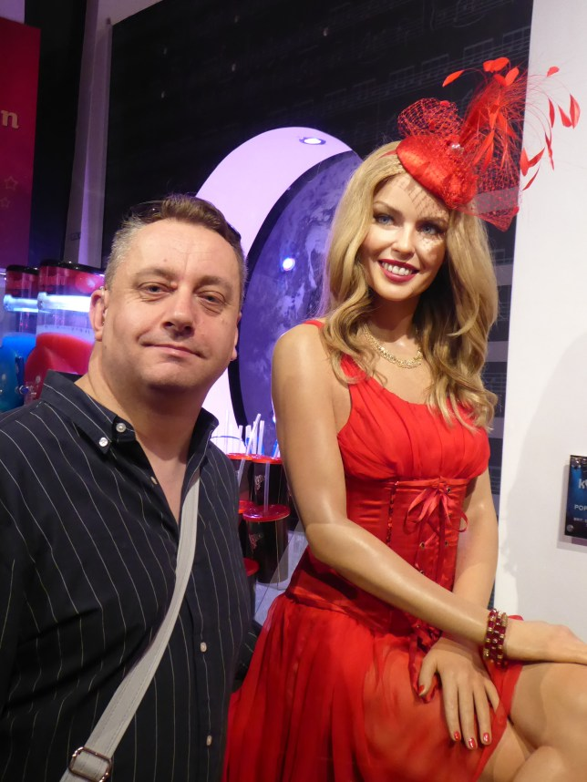 Kylie Minogue at Madame Tussauds