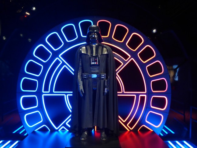 Darth Vader at Star Wars Identities exhibition O2 Arena