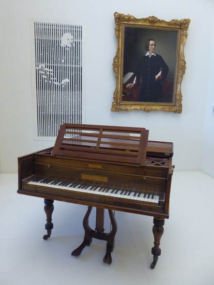 Beethoven's piano used until his death and then used by Liszt