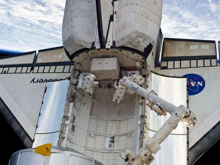 RickMastracchio Shuttle Spacewalk