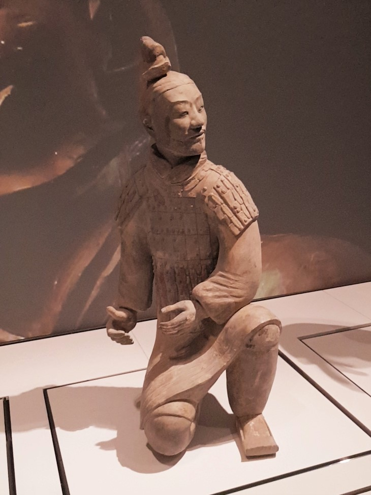 Kneeling Archer Terracotta Warriors Liverpool