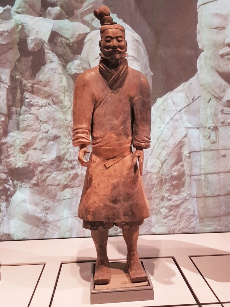 Light Infantryman from the Terracotta Warriors at Liverpool