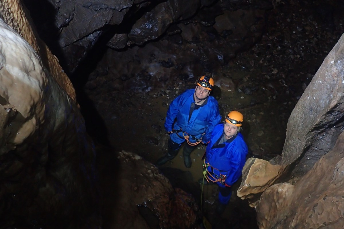 Stuck Between a Rock and a Hard Place - Beginner's Caving in the Peak District