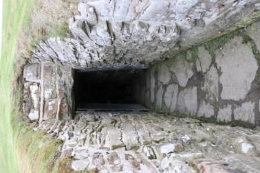 Unstan Cairn entrance