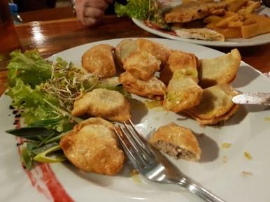 Pierogi from U Babci Maliny restaurant
