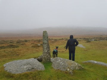 Four winds to Merrivale view on Dartmoor