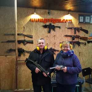 Instant Macho Swagger – Shooting Guns in Krakow