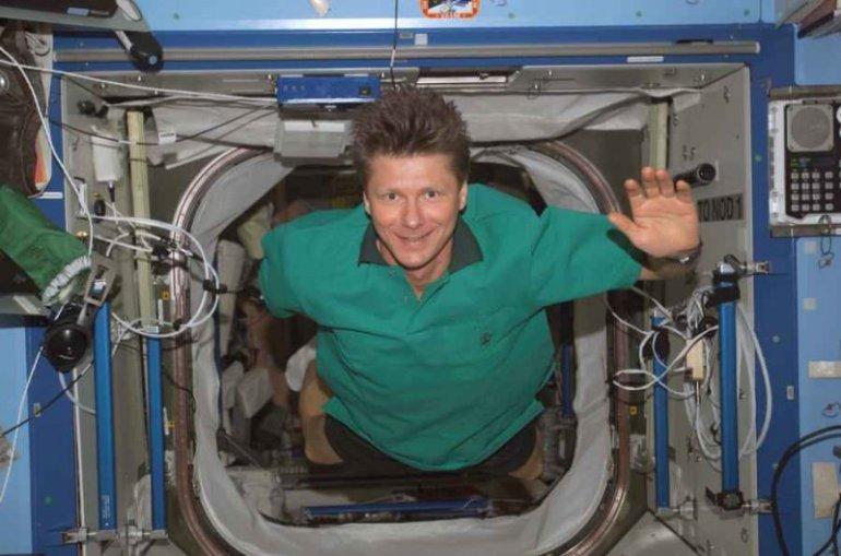 Padalka zero gravity