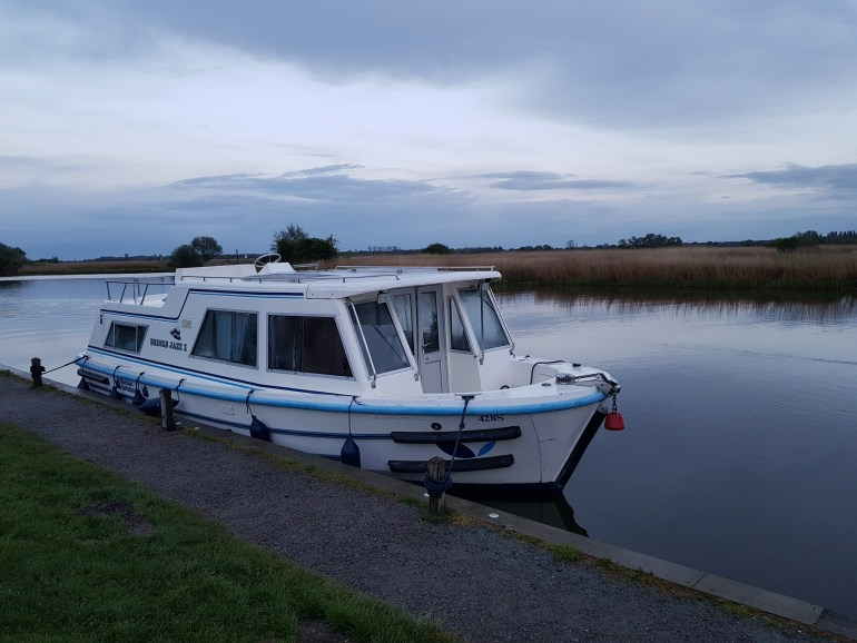 Jazz Brinks boat on the Norfolk Broads