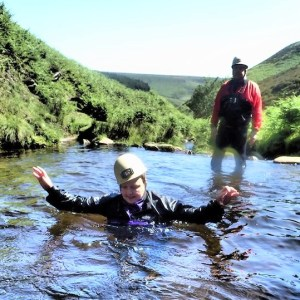 Gorge Walking in the Peak District