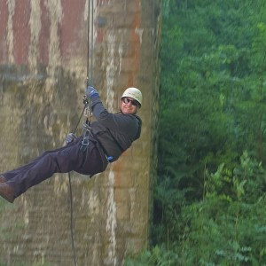 Don't Leave Me Hanging – Bridge Abseil in the Peak District
