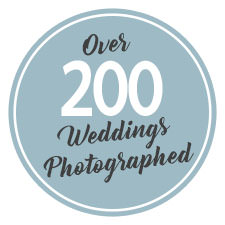 Over 200 weddings photographed