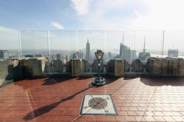 View from Rockefeller Center - New York City