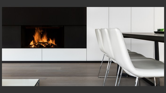 Fireplace by Nick De Clercq | PPOC accreditation