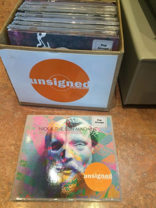 Nick and the Sun Machine album Wide Lying Smiles at the Barbican Music Library