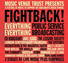 Fightback! event Roundhouse Camden