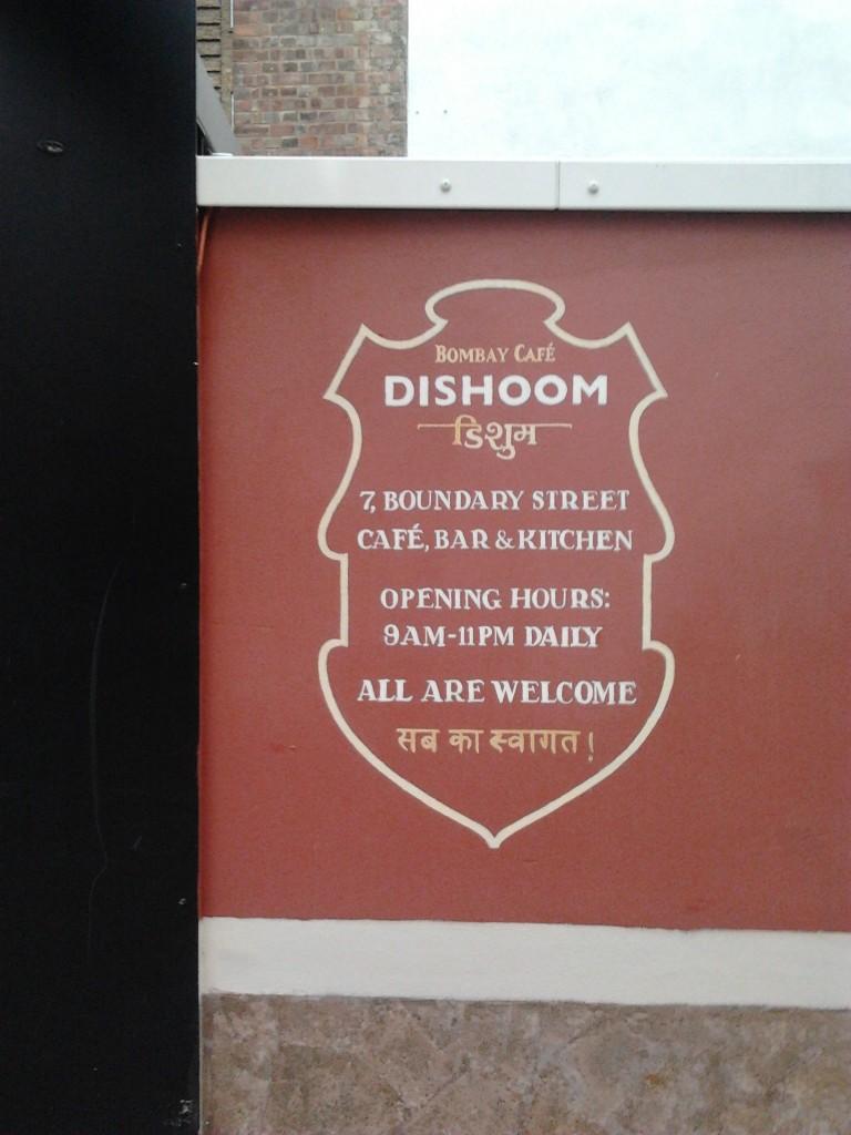 London Shop signs