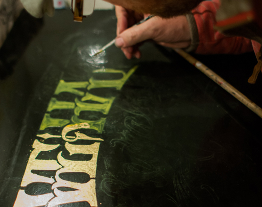 London Chalk art artis chalkie menu boards chalk boards chalkboards The Art of Glass Gilding Pink Floyd's drummer saves his old drum shop Foote's of London