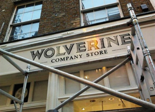 Wolverine NGS covent garden signwriters