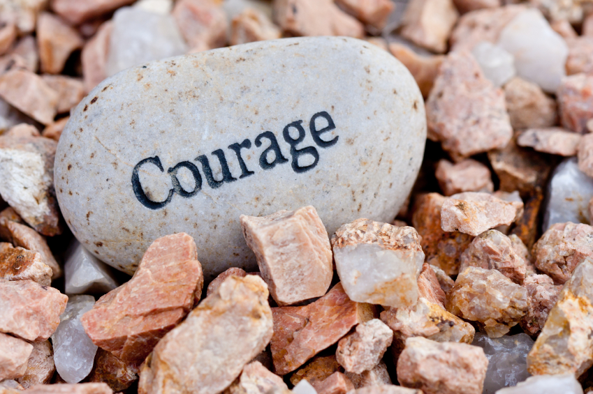 What's The Key To Courage?