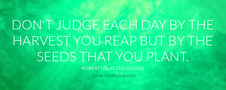 don't judge each day by the harvest web design brisbane