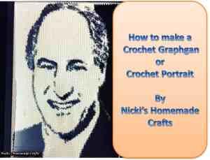 How to make a crochet graphgan or crochet portrait – crochet tutorial