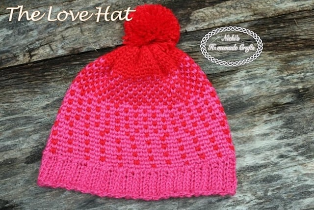 The Love Hat – Free Crochet Pattern