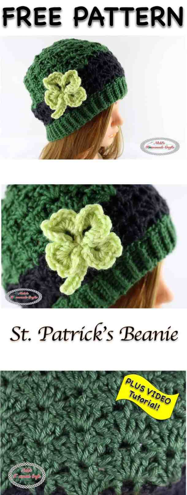 St patricks beanie free crochet pattern nickis homemade crafts st patricks beanie free crochet pattern by nickis homemade crafts fandeluxe Image collections