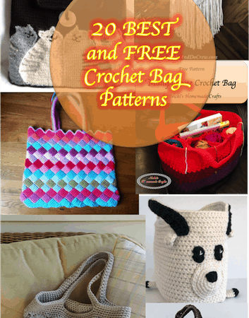20 Best Free Crochet Bag Patterns