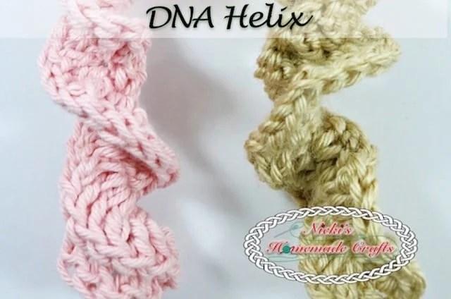 DNA Helix – Free Crochet Pattern