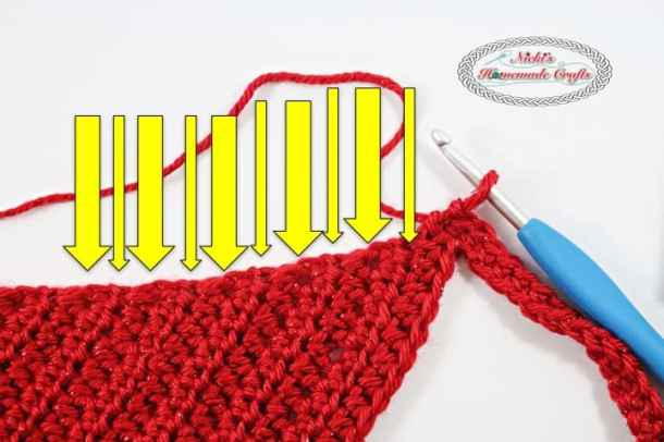 Summer Picot Head Kerchief Free Crochet Pattern Nickis Homemade