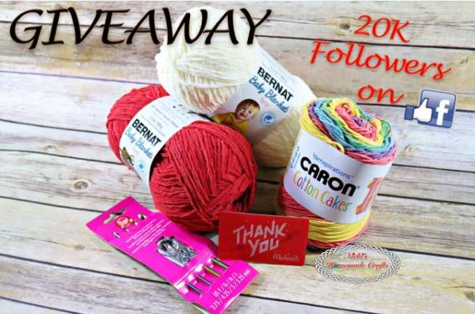 Giveaway to Celebrate 20K Followers on Facebook